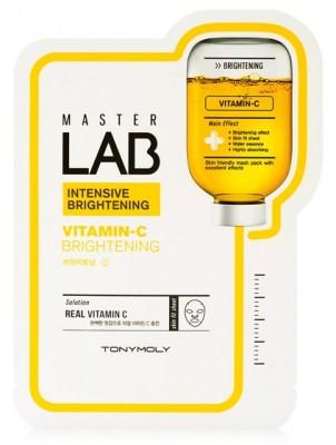 Тканевая маска с витамином С TONY MOLY Master Lab vitamin C mask sheet 19г: фото