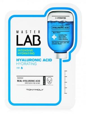 Тканевая маска с гиалуроновой кислотой TONY MOLY Master Lab hyaluronic acid mask sheet 19г: фото