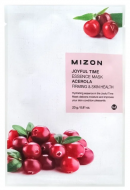 Тканевая маска с ацеролой MIZON Joyful time essence mask acerola 23г: фото