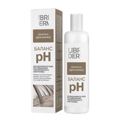 Шампунь pH-Баланс для чувствительной кожи головы LIBREDERM 250 мл: фото