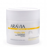 Крем для тела увлажняющий укрепляющий Aravia professional Organic Vitality SPA 300 мл: фото