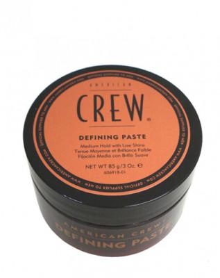 Паста со средней фиксацией и низким уровнем блеска для укладки волос American Crew King Defining Paste 85г: фото