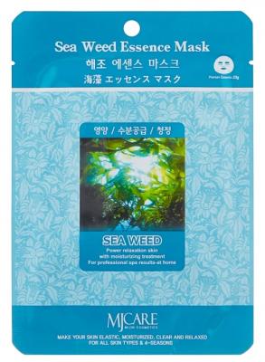 Маска тканевая морские водоросли Mijin Sea Weed Essence Mask 23г: фото
