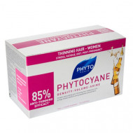 Средство против выпадения волос Phytosolba Phytocyane 7,5мл*12: фото