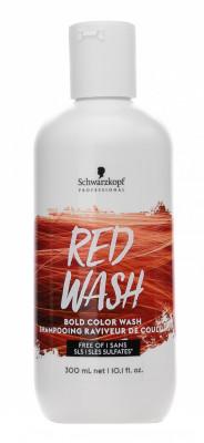 Тонер для волос Schwarzkopf Professional ColorWash Красный 300 мл: фото