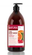 Гель для душа КЛЮКВА и АПЕЛЬСИН EVAS NATURIA PURE BODY WASH Cranberry & Orange 750 мл: фото
