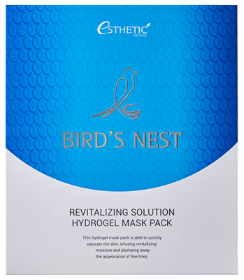 Маска для лица гидрогелевая ESTHETIC HOUSE BIRD'S NEST REVITALIZING HYDROGEL MASK PACK 28г*5шт: фото