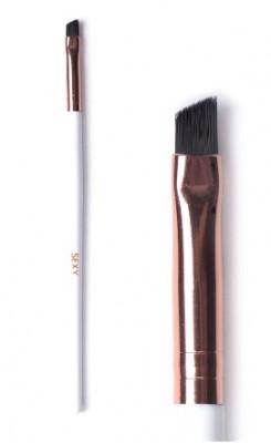 Кисть скошенная для окрашивания бровей классическая SEXY: фото