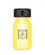 Кремовая краска для лица и тела Make-Up Atelier Paris Aquacream AQORM золотой металлический: фото