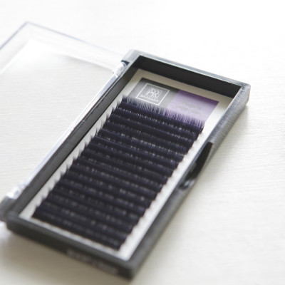 Чёрные ресницы BARBARA Elegant МИКС (D 0.10 7-15mm): фото