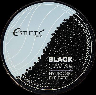 Гидрогелевые патчи для глаз ЧЕРНАЯ ИКРА ESTHETIC HOUSE Black Caviar Hydrogel Eye Patch, 60 шт: фото