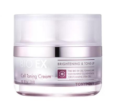 TONYMOLY Антивозрастной крем для лица тонизирующий BIO EX Cell Toning Cream 60мл: фото